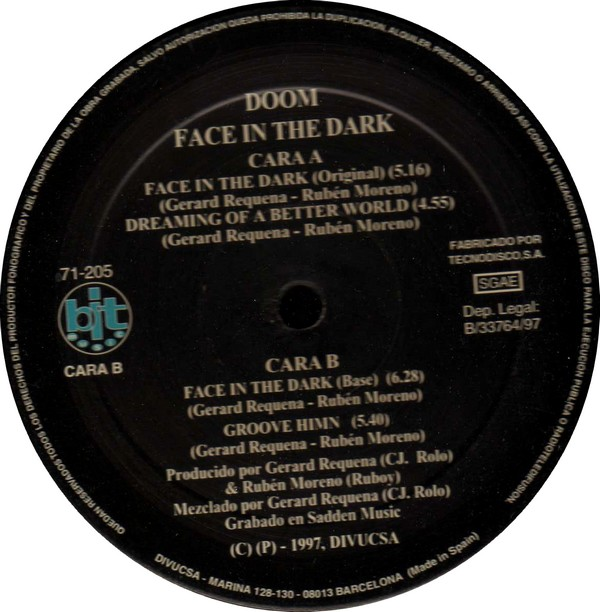 Doom - Face In The Dark