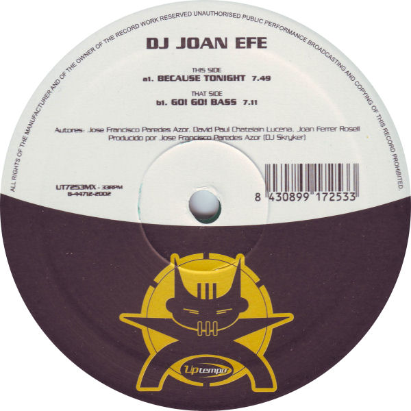 DJ Joan Efe - Because Tonight