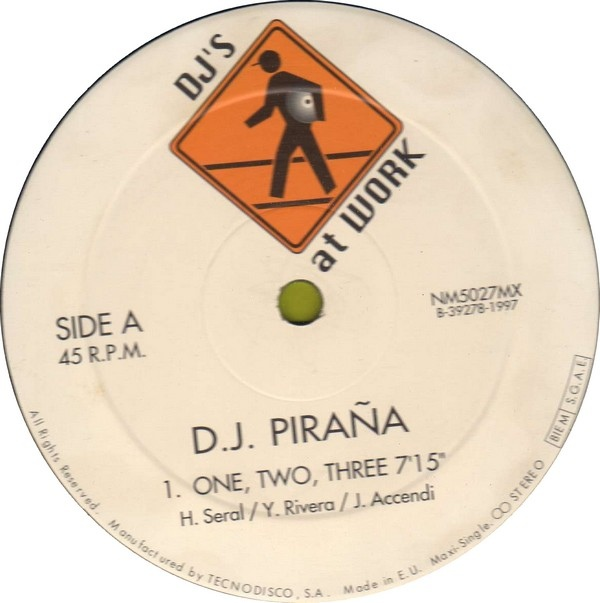 D.J. Piraña   ‎– One, Two, Three