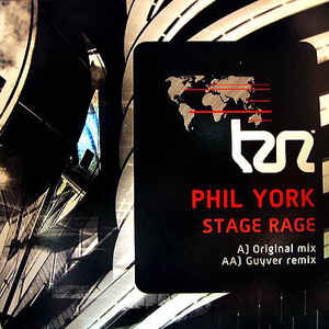 Phil York ‎– Stage Rage